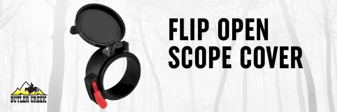 Butler Creek Flip Open Scope Cover