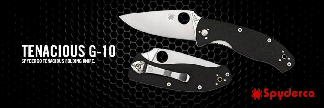 Spyderco Tenacious G-10 Folding Knife