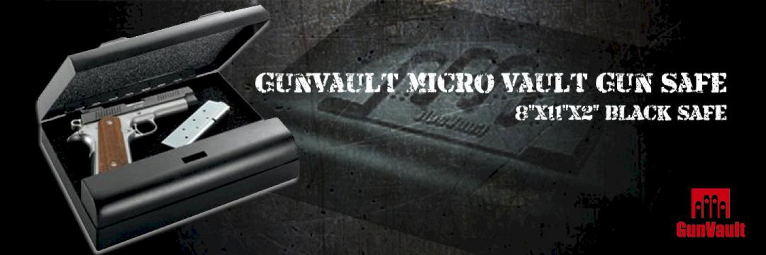 Gunvault micro vault gun safe