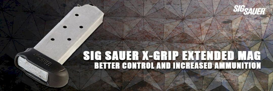 Sig Sauer X-Grip Extended Mag