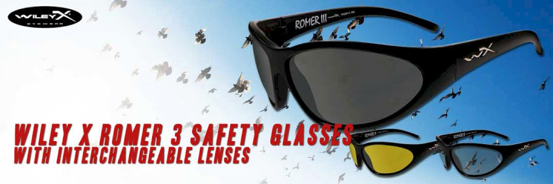 Wiley X Romer 3 Safety Glasses