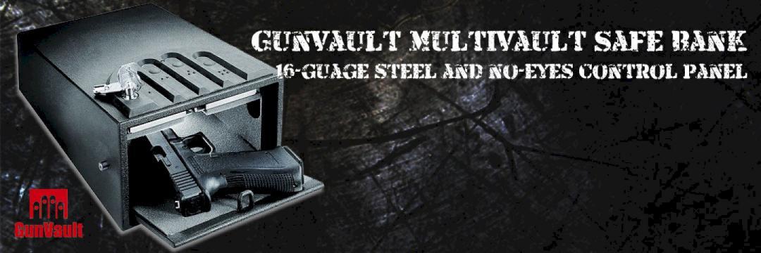 Gunvault Multivault Safe Bank
