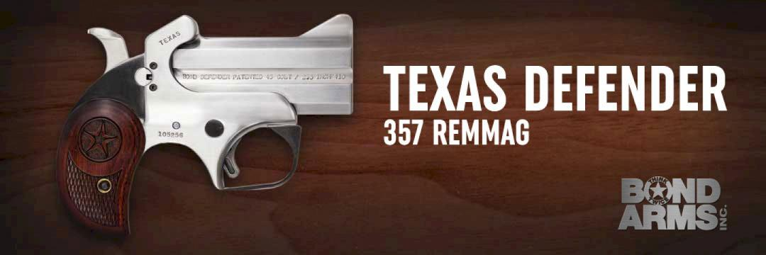 Bond Arms Texas Defender 357 Rem Mag