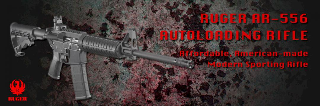 Ruger AR-556 Autoloading Rifle