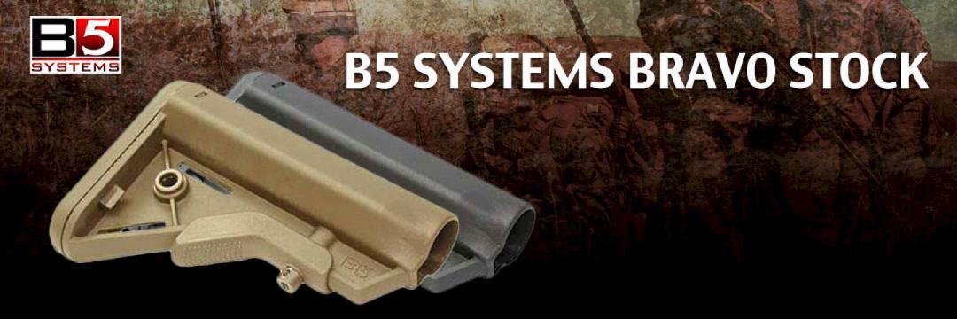 B5 Systems Bravo Stock