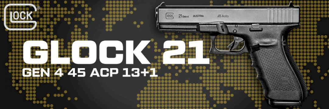 Glock 21 Gen 4 .45 ACP 13+1