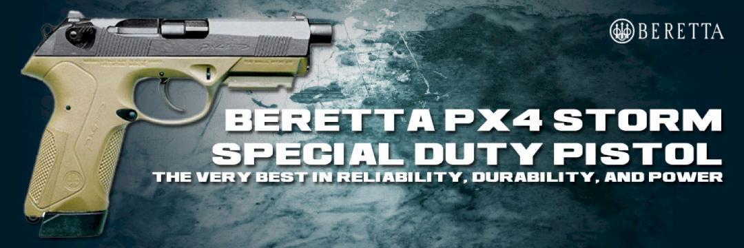 Beretta Px4Storm Special Duty Pistol
