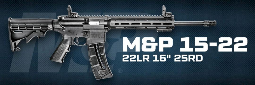 Smith & Wesson M&P 15-22