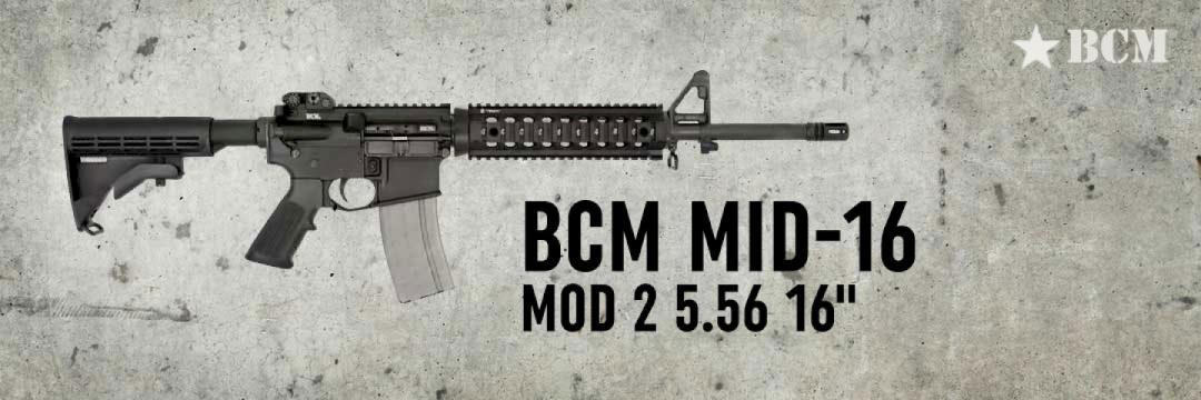 BCM Mid-16 Mod 2 5.56 16