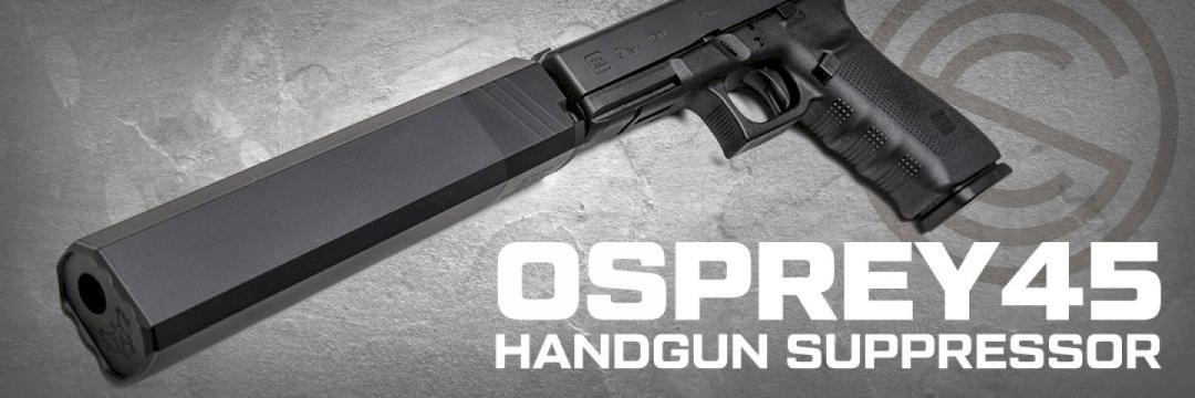 Silencer Co. Osprey 45 Handgun Suppressor