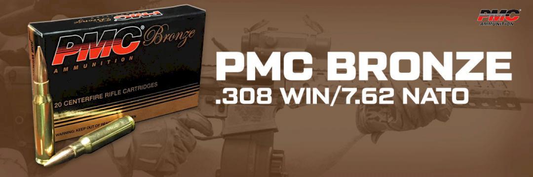 PMC BRONZE .308 WIN/7.62 NATO
