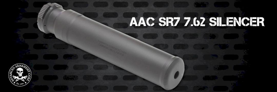 AAC SR7 7.62 Silencer