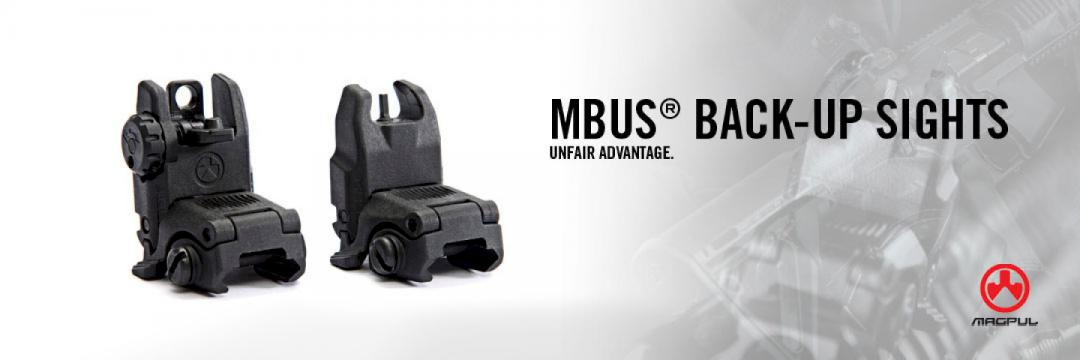 Magpul MBUS Back-Up Sights