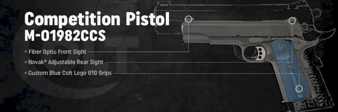 Colt Competition Pistol 1982CCS