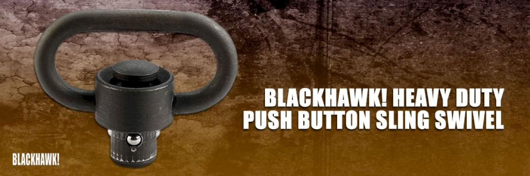 Blackhawk Heavy Duty Push Button Sling Swivel