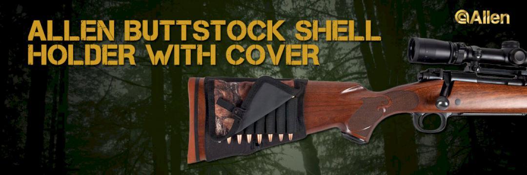 Allen Buttstock Shell Holder with Cover