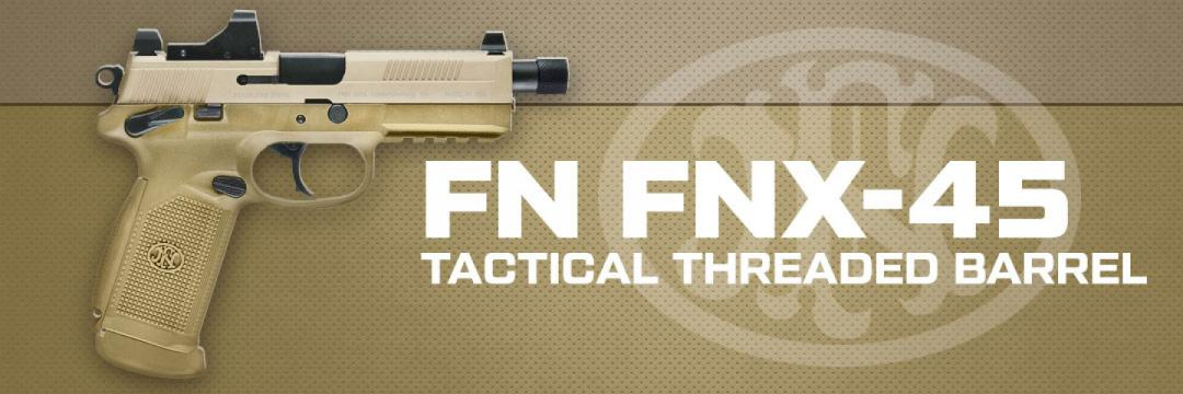 FNH FNX-45 Tactical Threaded Barrel