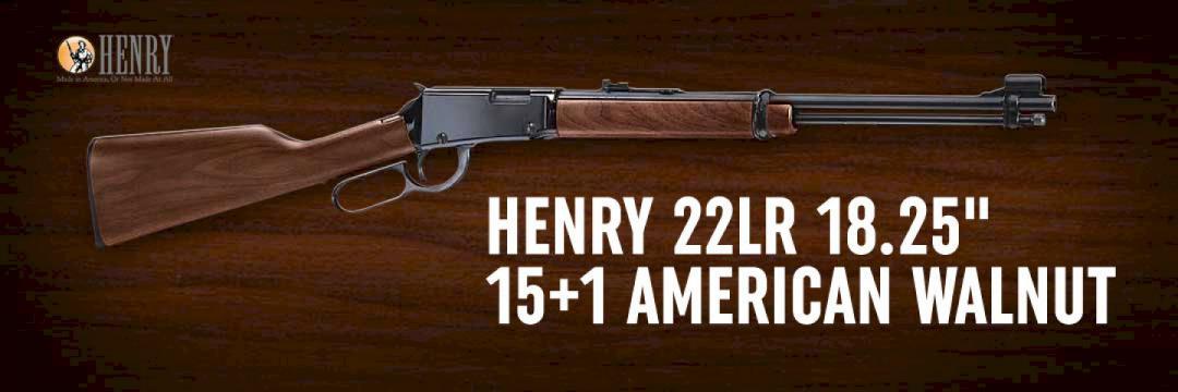 Henry 22LR 18.25
