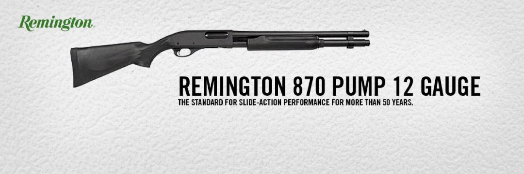 Remington 870 Pump 12 Gauge