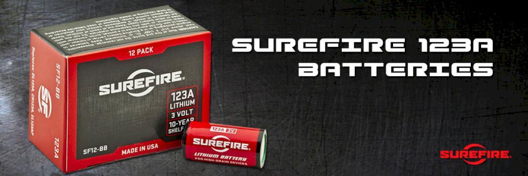 Surefire 123A Batteries