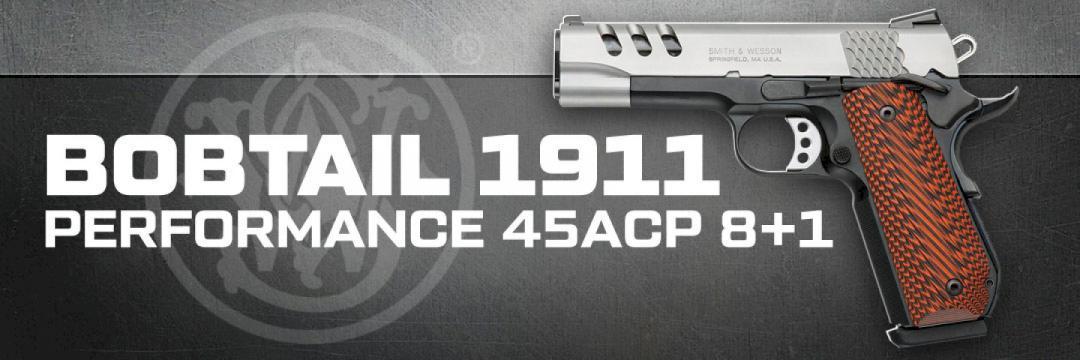 S&W Bobtail 1911 Performance 45ACP 8+1