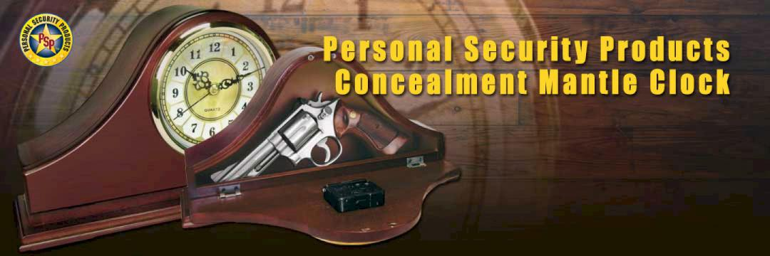 Personal Security Products Concealment Mantle Clock