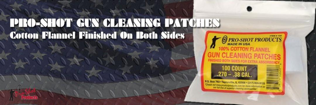 Pro-Shot Gun Cleaning Patches