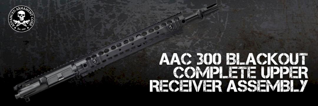 AAC 300 Blackout Complete Upper Receiver Assembly