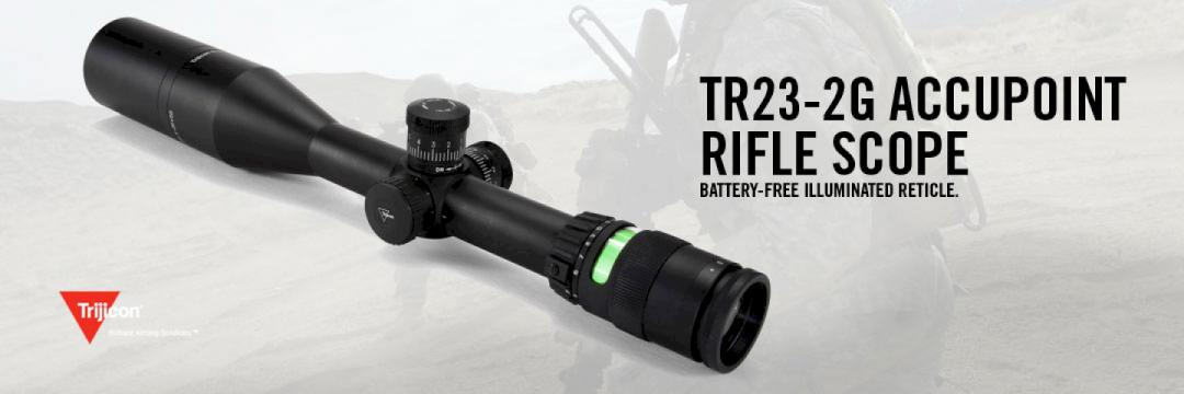 Trijicon TR23-2G Accupoint Rifle Scope