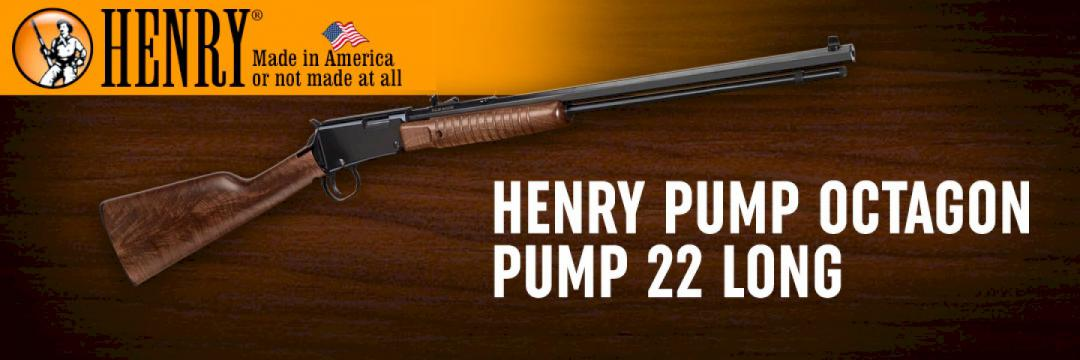 Henry Pump Octagon Pump 22 Long