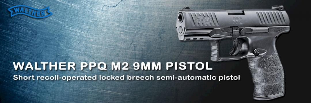 Walther PPQ M2 9MM Pistol