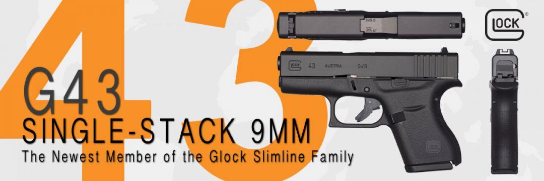 Glock G43 Single Stack