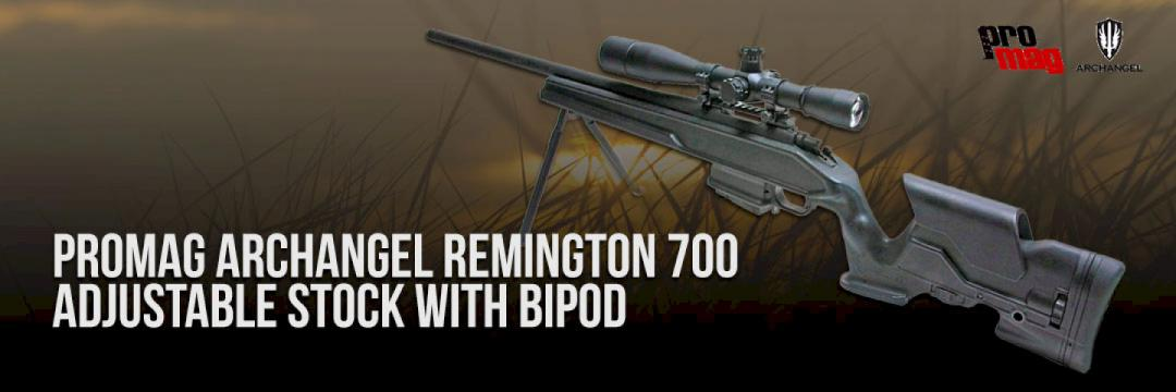 Promag Archangel Remington 700 Stock With Bipod