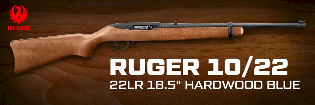 Ruger 10/22 Hardwood Blue