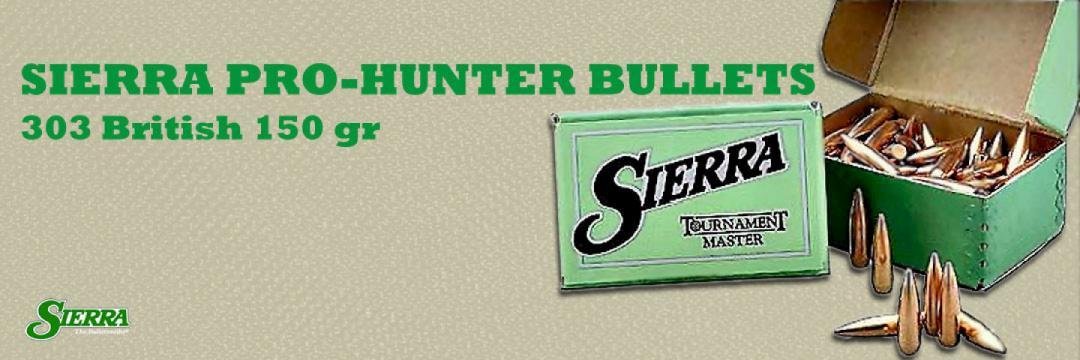 Sierra Pro-Hunter Bullets