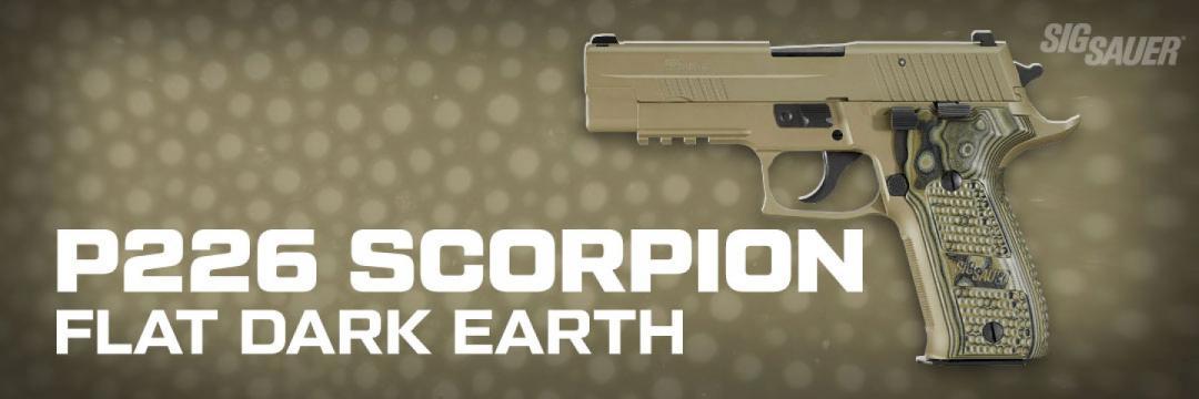 Sig Sauer P226 Scorpion FDE