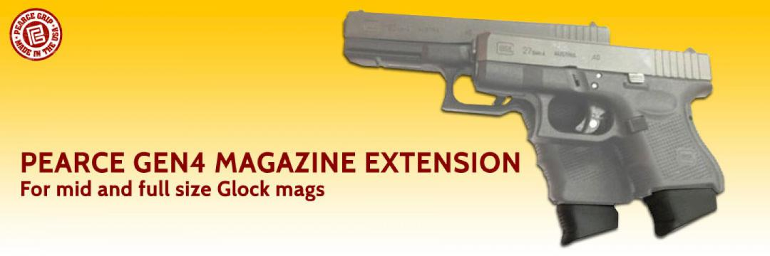 Pearce Gen4 Magazine Extension