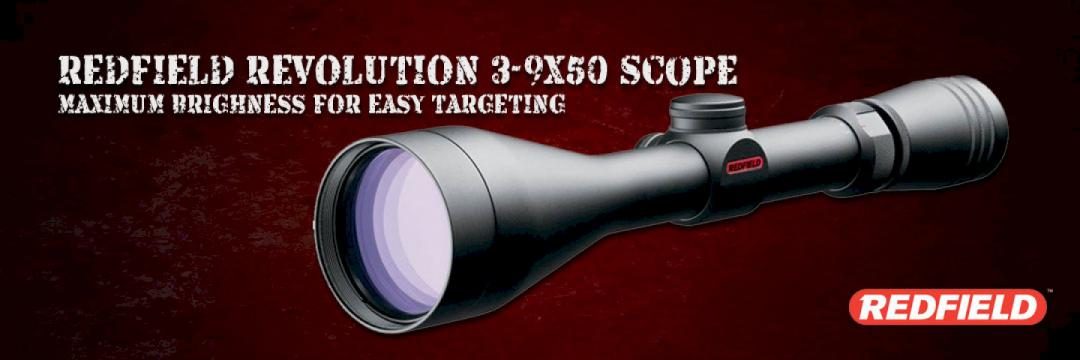 Redfield Revolution 3-9x50 Scope