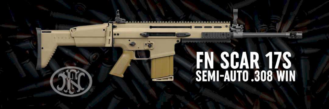FNH Scar 17s Semi-Auto .308 Winchester